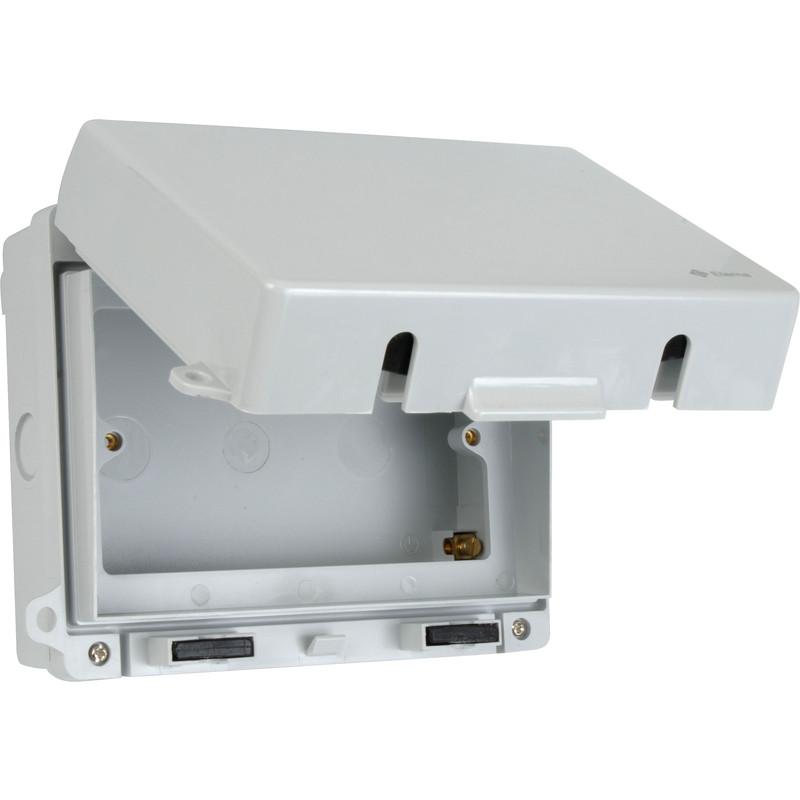 Ip65 Weatherproof Accessory Box Double Toolstation