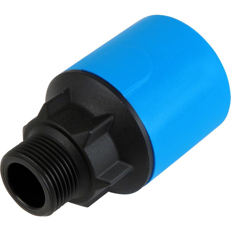 "NEW 2 X Plumbing JG Speedfit MDPE Male Adaptor 25mm x 3/4"" Each FreePost.UK"