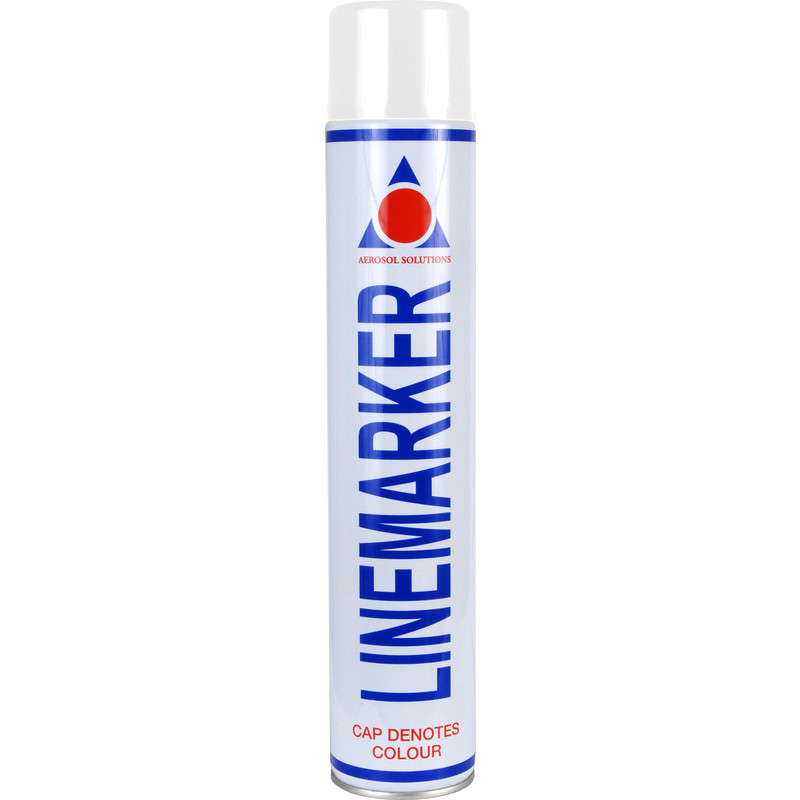 Line Marking Spray Paint 750ml White Toolstation