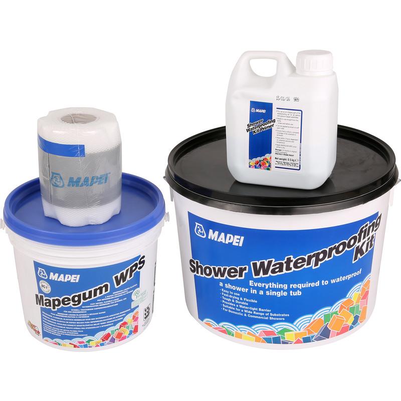 Mapei Waterproofing Membrane : Mapei shower waterproofing kit toolstation