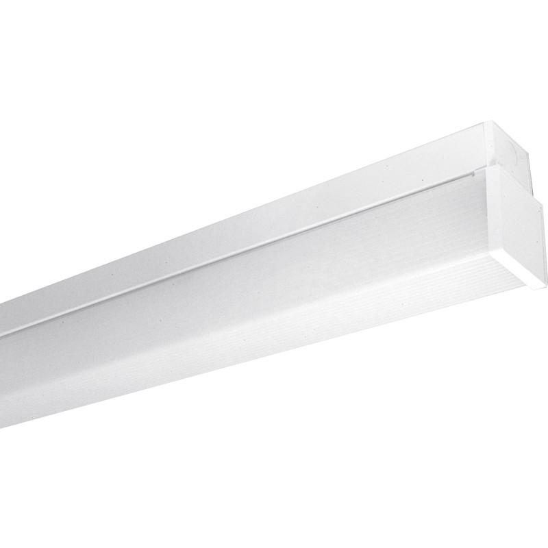 Fluorescent Light Batten Fittings: Fluorescent Batten Fitting With Diffuser LPF 1200mm