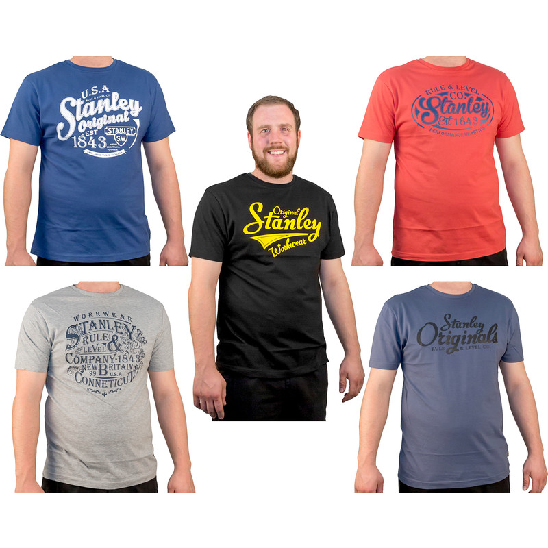 Stanley Fargo T Shirt 5 Pack