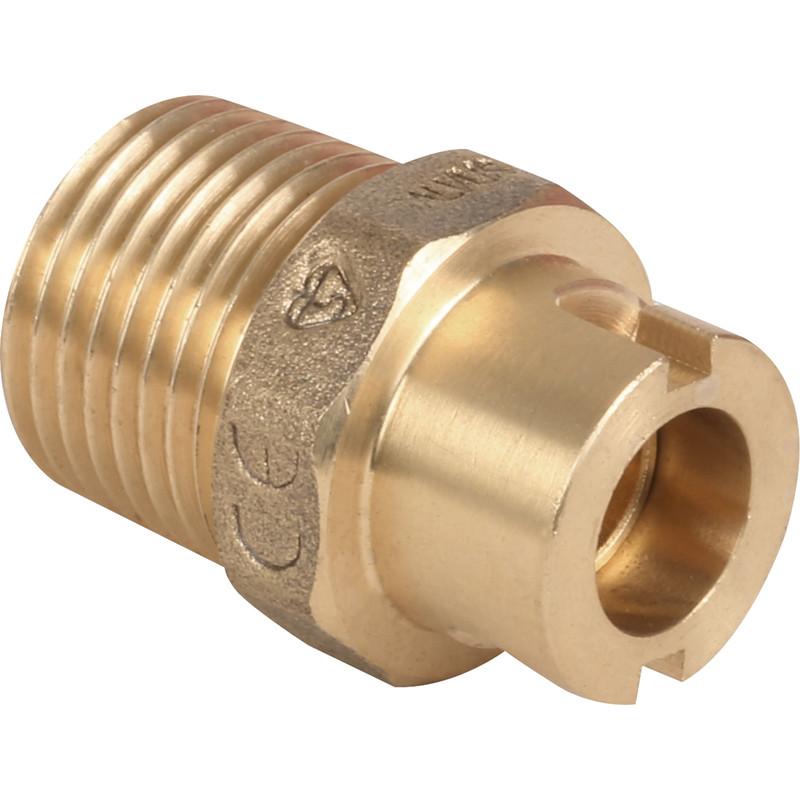 "NEW 2 X Plumbing Gas Bayonet Socket Micropoint 1/2"" Each FreePost.UK"