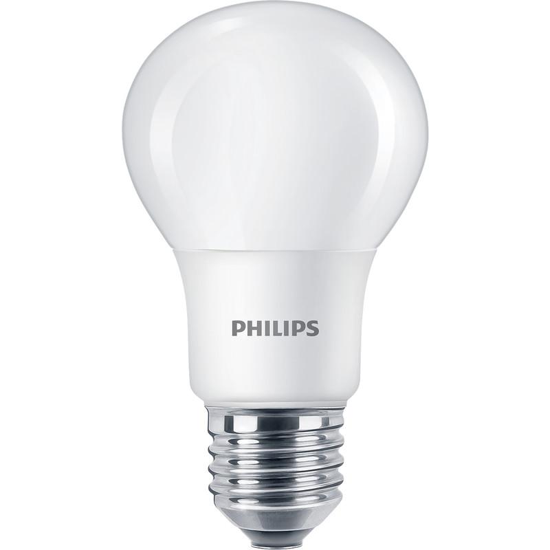 philips led a shape lamp 8w es e27 806lm toolstation. Black Bedroom Furniture Sets. Home Design Ideas