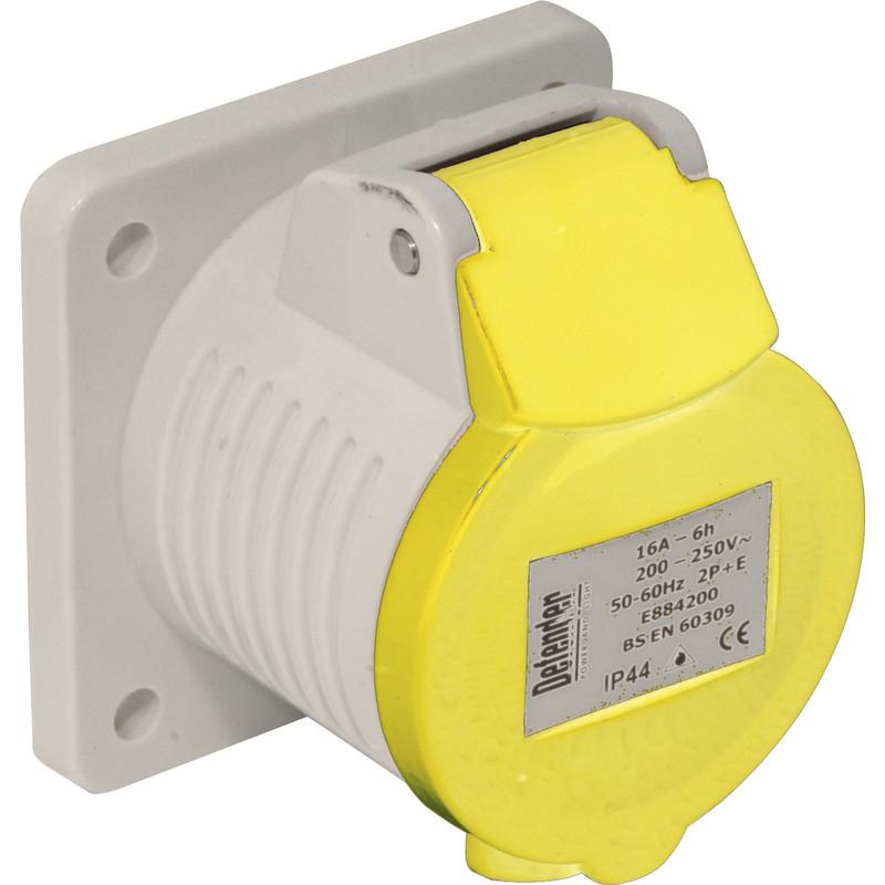 Industrial Panel Socket IP44