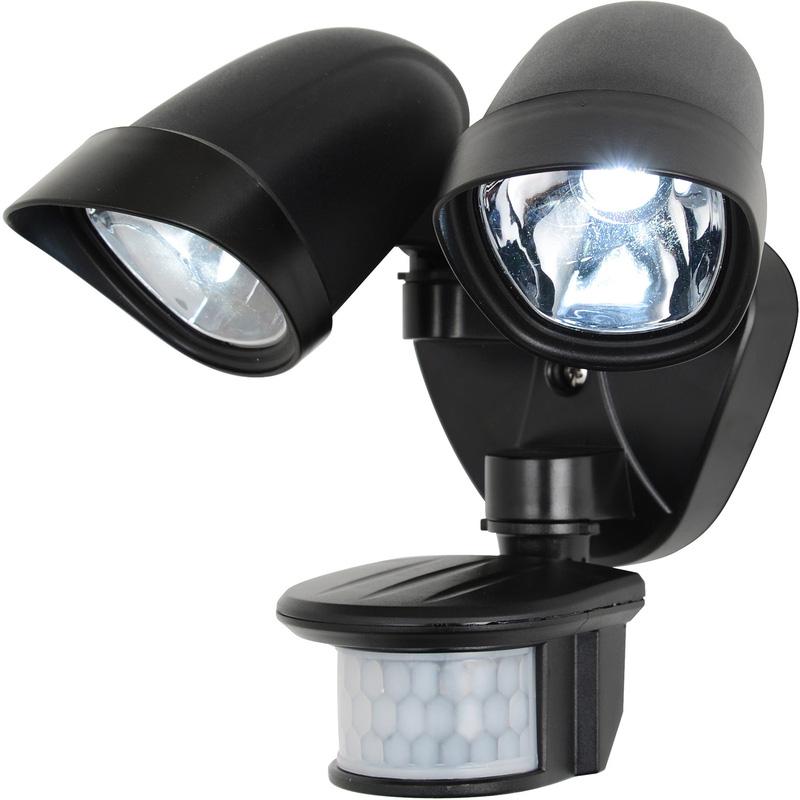 LED Twinspot PIR Floodlight