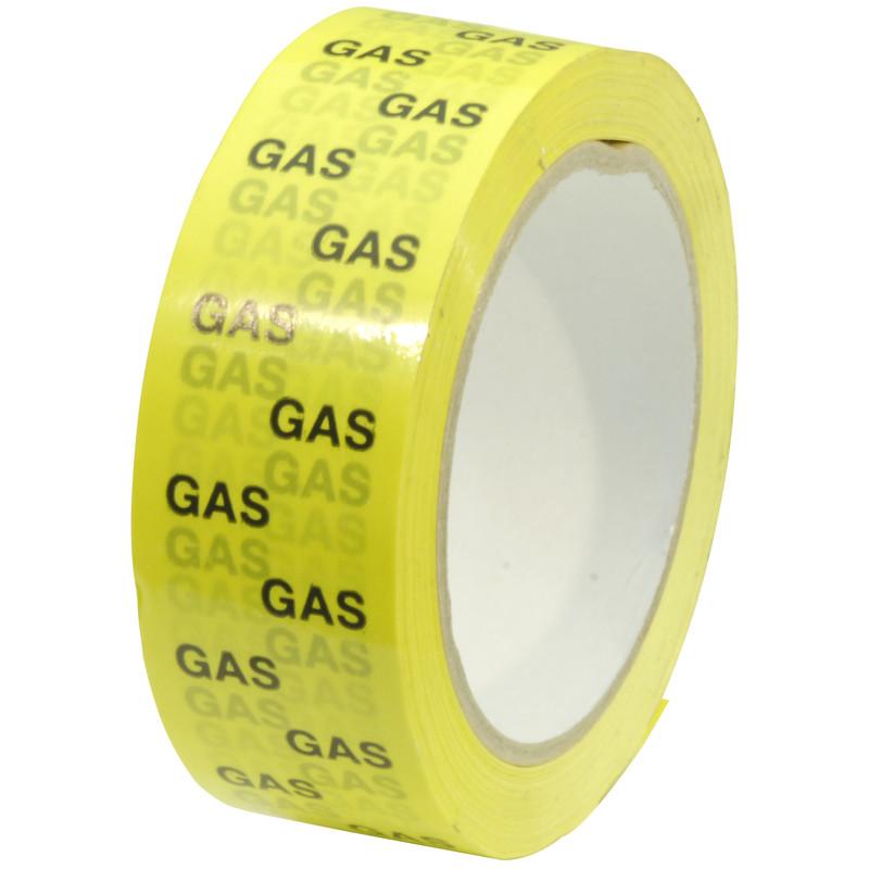 Gas pipeline identification tape mm m toolstation