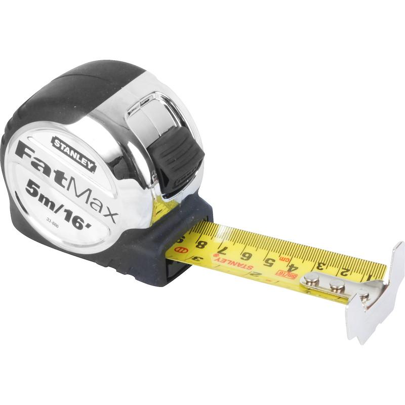 stanley fatmax pro tape measure 5m toolstation. Black Bedroom Furniture Sets. Home Design Ideas