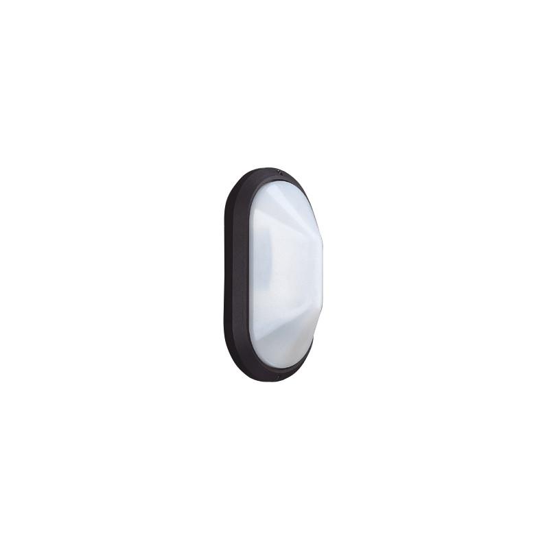 Bathroom Light Fittings Toolstation: Oval Bulkhead Wall Light Black