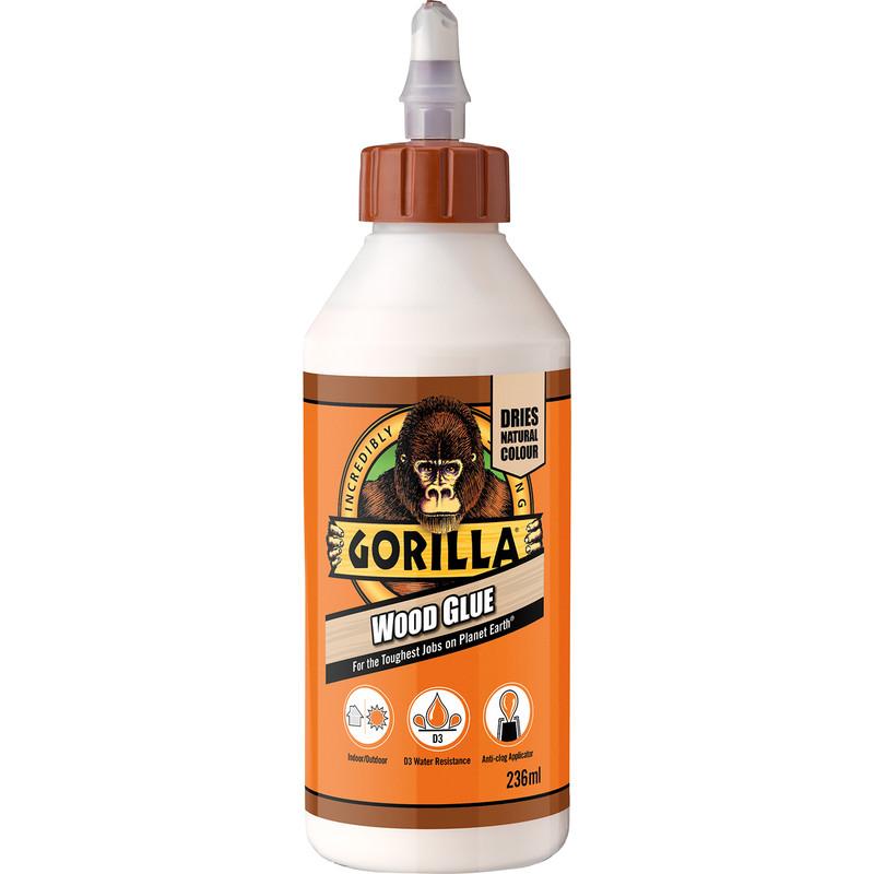 Gorilla Wood Glue 236ml Toolstation