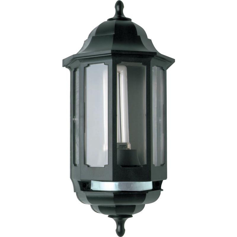 Asd Coach Pedestal Lantern: ASD Half Lantern Photocell Low Energy Polycarbonate 9W