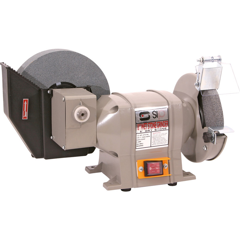 sip wet and dry bench grinder 1