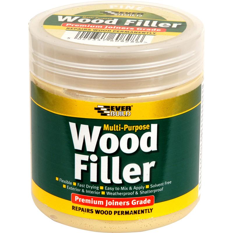 Everbuild Multi Purpose Wood Filler 250ml Pine Toolstation