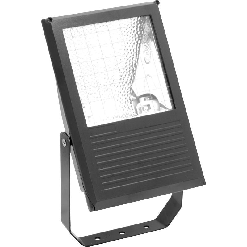 Slimline Metal Halide Floodlight Black 150W