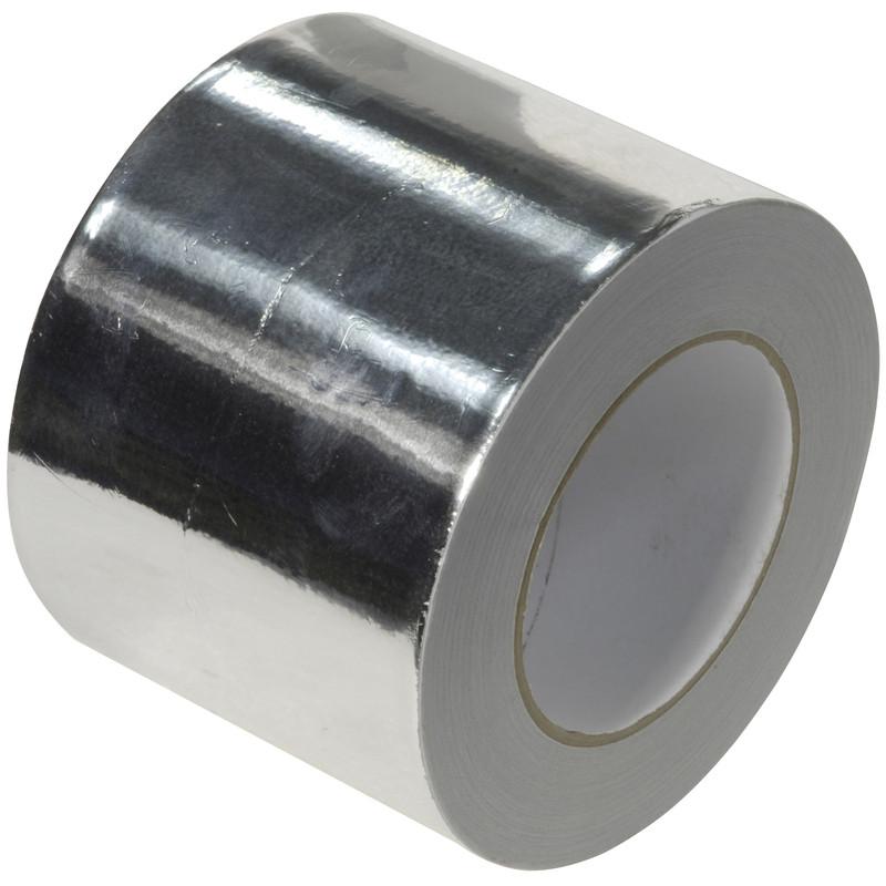 Sheet Metal Tape : Aluminium foil tape mm m toolstation