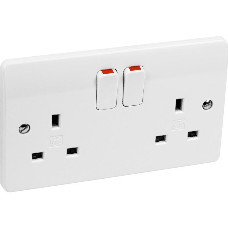 MK Switched Socket