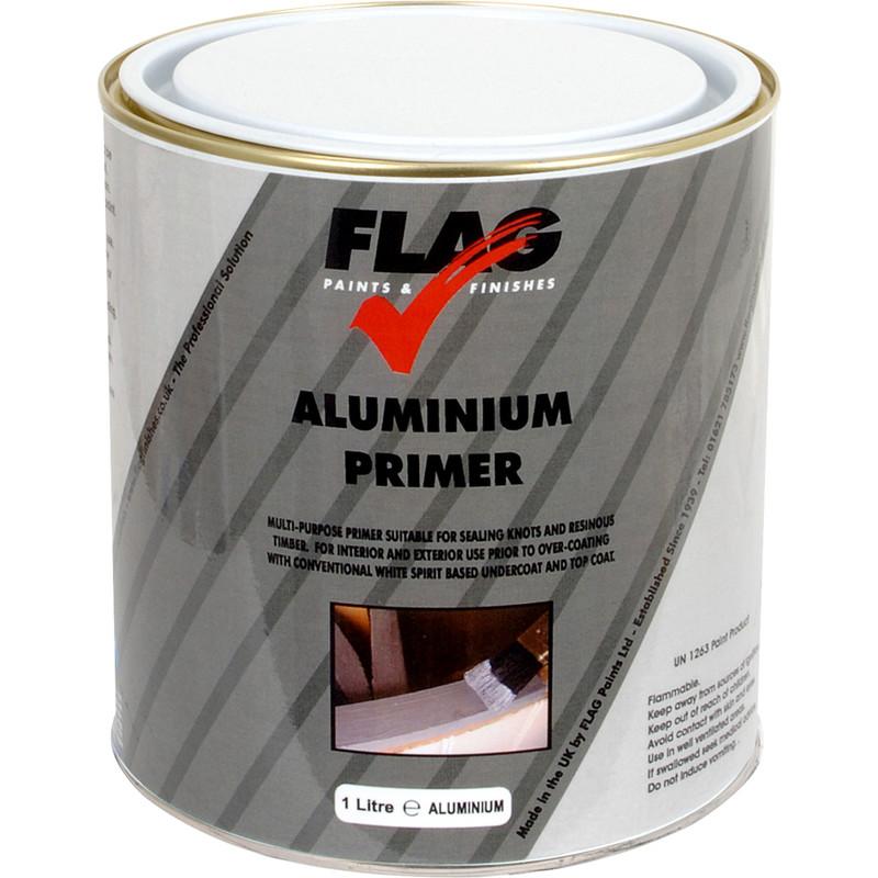 how to prepare aluminium for paint