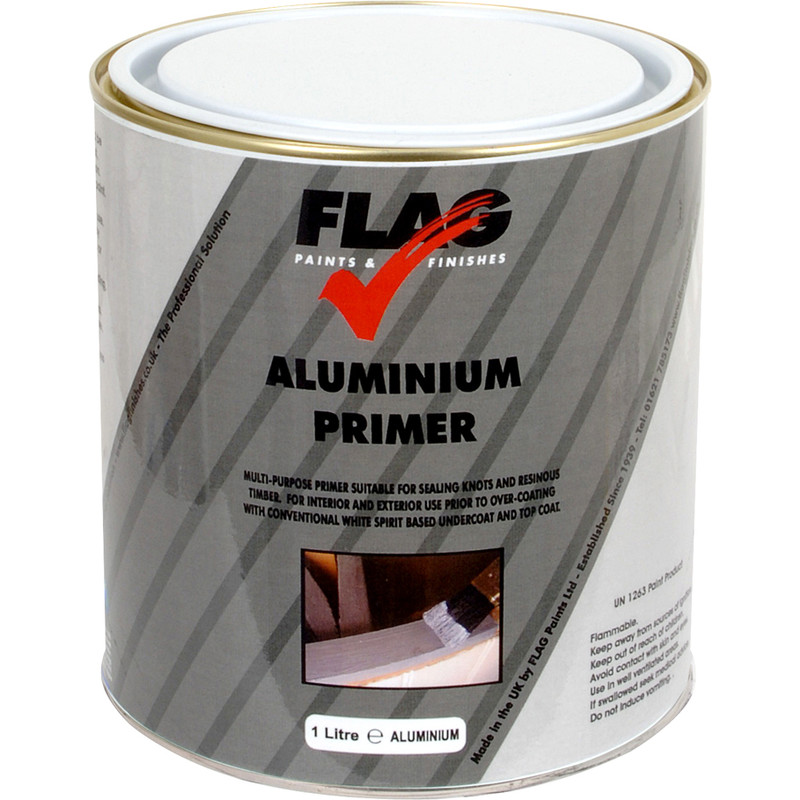 Aluminium Primer Paint 1L Toolstation