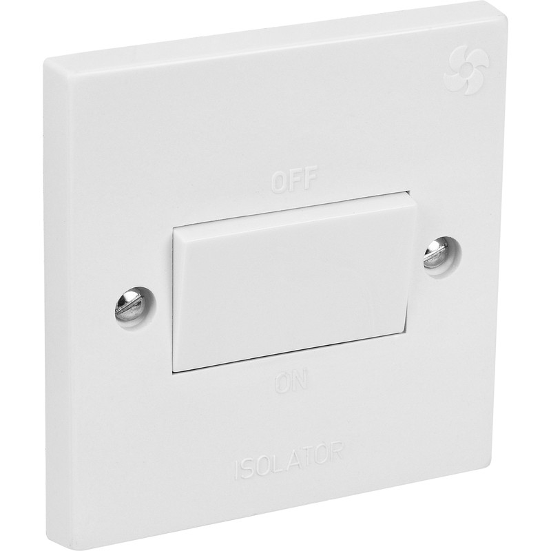 fan isolator switch 10a toolstation. Black Bedroom Furniture Sets. Home Design Ideas