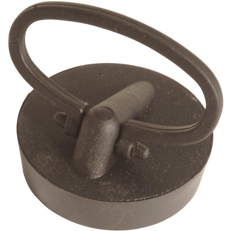 New plumbing mcalpine black pvc plug handle