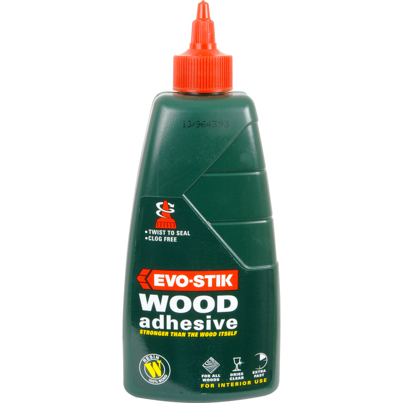 Evo Stik Interior Resin W Wood Adhesive 500ml Toolstation
