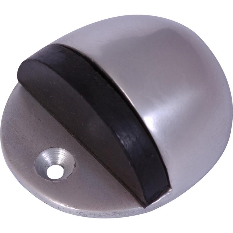 New floor door stop aluminium each freepost ebay