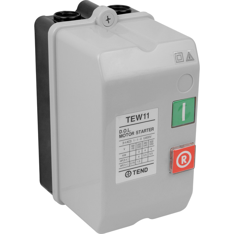 Dol starter 240v 3kw toolstation for 3 phase motor starter switch
