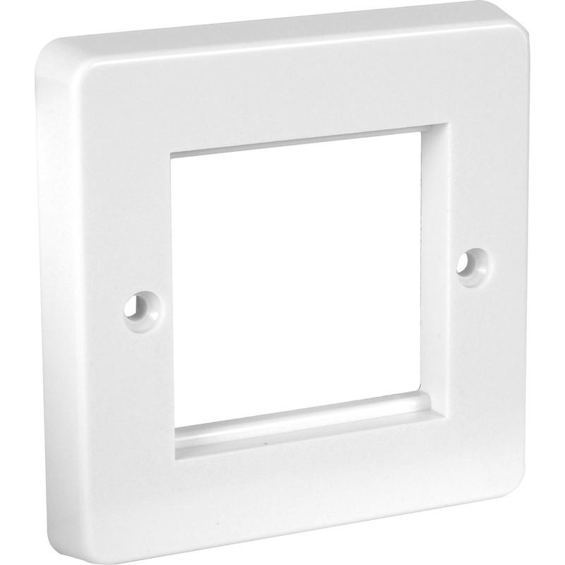 crabtree module plate blank 2 module plate toolstation. Black Bedroom Furniture Sets. Home Design Ideas
