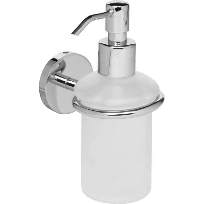 Polished Soap Dispenser Chrome Toolstation
